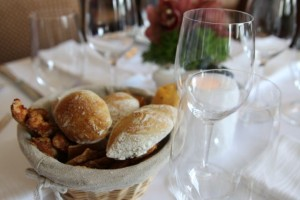 One Eleven will cover tables with linens for dinner service but still offer a casual, rustic feel.